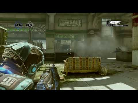 Gears of war 3 - 3v3 - GB Match #2 2/2