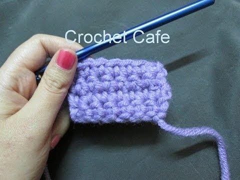 دروس تعليم الكروشيه للمبتدئين الدرس 3 : كروشيه غرزة الحشو | Crochet Cafe