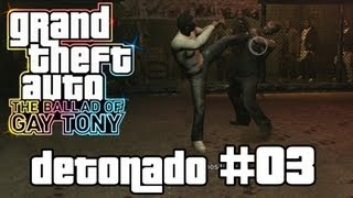 Rulando no Octógono do UFC - GTA 4 TBoGT / Walkthrough (Xbox 360/PS3/PC) - Parte 03