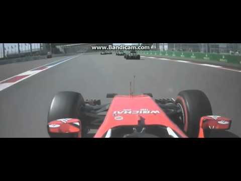F1 2016 GP da Russia Vettel vs Kvyat Crash HD + Team Radio