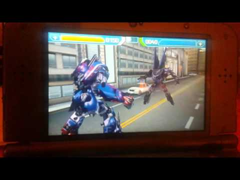 Transformers Rise of the Dark Spark 3DS review