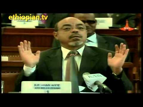 Twista : Memorable Video Clips Of  Meles Zenawi Inside The Ethiopian Parliament video