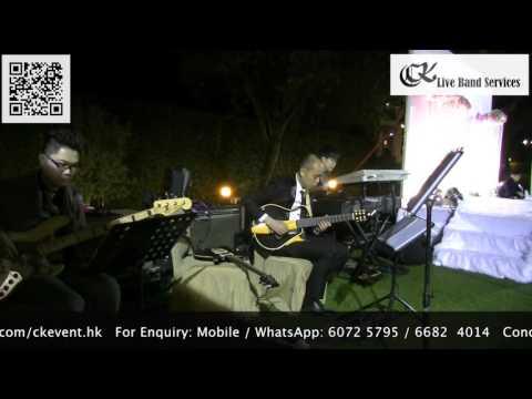 香港婚禮樂隊Wedding Live Band HK - Wedding Party Banquet by CK Live Band Services@Beas River Country Club