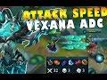 Mobile Legends Vexana Attack Speed Marksman Build Gameplay mp3