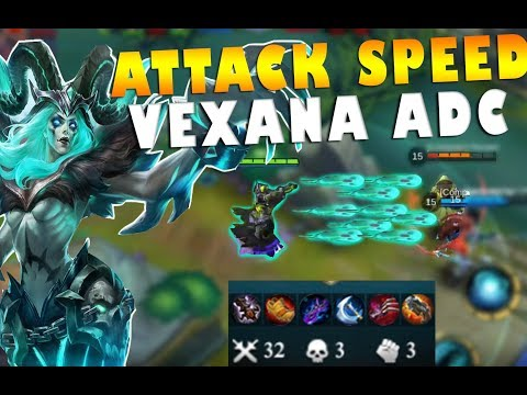 Mobile Legends Vexana Attack Speed Marksman Build Gameplay