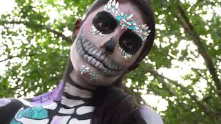 Skeleton Bodypaint!!!
