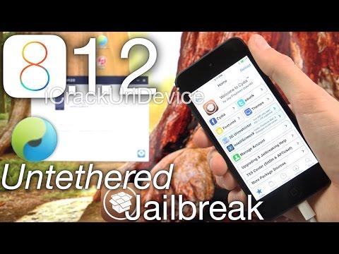 NEW Jailbreak 8.1.2 Untethered TaiG iOS 8.1.2 iPhone 6 Plus,6 5S,5C,4S,iPod 5 & iPad Air 2, Mini 3,4