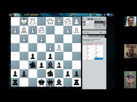 Chesscube #163: Warzone Blitz Chess Final 25th March 2012 (Chessworld.net)