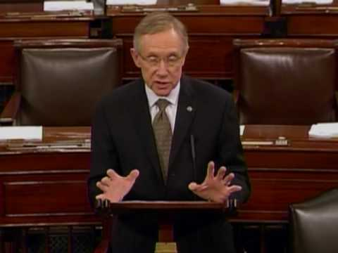 Harry Reid: Only 36,000 Lost Their Jobs Today