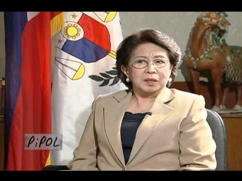 Pipol on ANC Host: Ces Oreña-Drilon Guest: Ombudsman Conchita Carpio-Morales October 10, 2011.