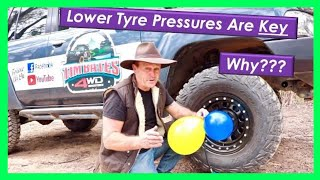 Why lower the tyre pressure on your 4x4?