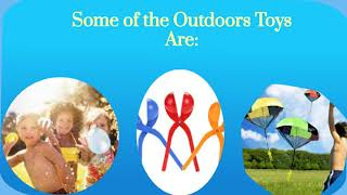 Outdoor Toys for kids by a Toysferry