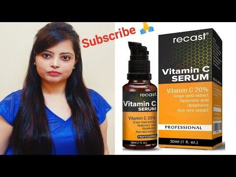 Recast Vit C Serum Genuine Review, An affordable Vit c serum