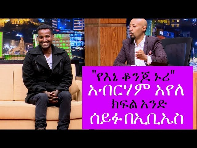 Seifu on EBS:Interview With Aberham Ayele