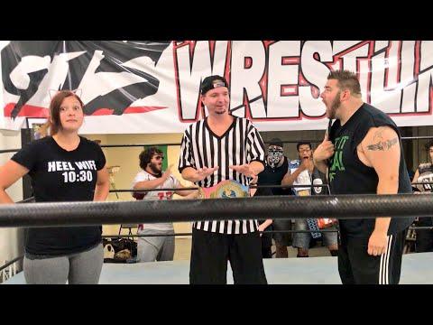 James Ellsworth Referees Grim Vs Heel Wife Match (Championship Opportunity 2018)