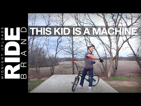WELCOME TO THE MARCUS CHRISTOPHER SHOW - 14 Years Old - Lil Pros Tour Ohio - Graceland BMX Backyard