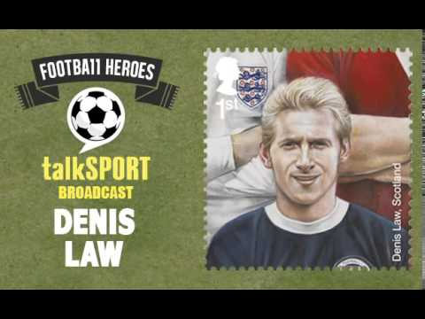 Royal Mail Football Stamps -- talkSPORT: Dennis Law