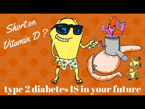 Vitamin deficiency puts you at risk of diabetes (type 2 diabetes)