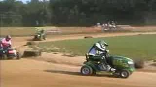 Lawn Mower Racing Chesapeake City MD 08/03/08 Super Sportsman ARMA Feature