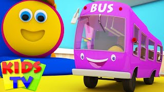 Bob The Train | Wheels On The Bus Go Round And Round | Nursery Rhymes | Kids Songs | Kids Tv Bob