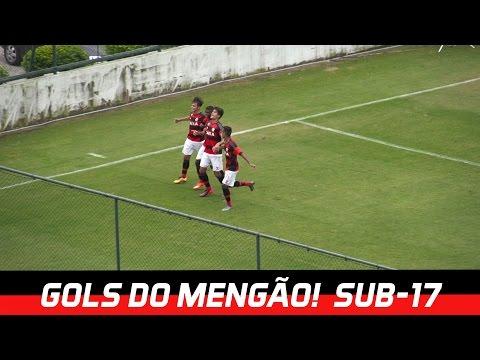 Gols - Copa do Brasil Sub-17 - Flamengo 3 x 3 Sport