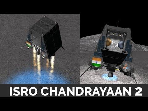 Download ISRO Chandrayaan 2 - animation , landing , launch Mp4 baru
