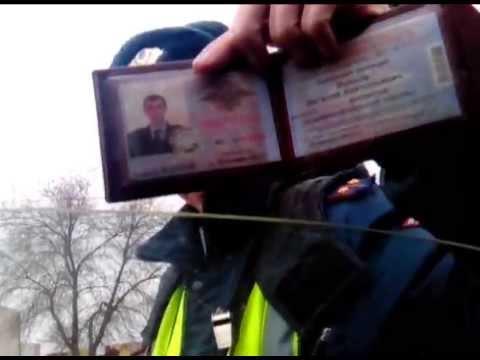 Проезд на запрещающий сигнал светофора Волгоград. Инспектор Волков - звезда Ютюба.