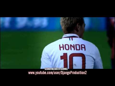 Keisuke Honda - Goals and Skills in A C Milan