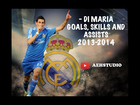 ANGEL DI MARIA | Welcome to PSG | Best Goals, Skills and Assists | 2013/2014 [HD] [1080p]