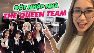 Hương Witch đột nhập nhà THE QUEEN TEAM : Team nữ nổi tiếng nhiều gái xinh bậc nhất Việt Nam