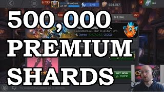 500000 Premium Hero Crystal Shards | Marvel Contest of Champions Crystal Opening