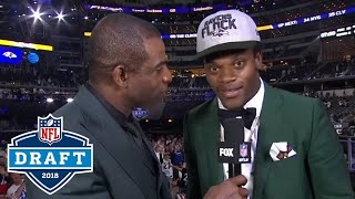 1st Round Draft Picks Initial Reaction to Being Drafted  NFL Network