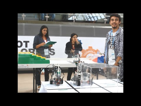 First place!!!, National Robot Olympiad Qatar 2015 - Day 2