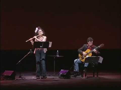 Maximo Diego Pujol : 1.Pompeya (Suite Buenos Aires) - Tomoko Yamano (fl), Gabriele Natilla (gt).