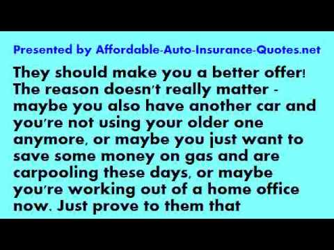 Affordable Auto Insurance - Tip #25