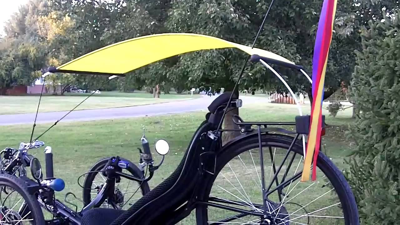 Recumbent Trike Hood Sun Amp Rain Protection 2011 10 07