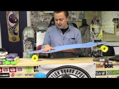 Action Board Sports Reviews the DB Longboards Double D Longboard Skateboard