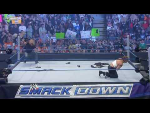 WWE SmackDown 4/2/10 - Jack Swagger Wins The World Heavyweight Champion (HQ) Video