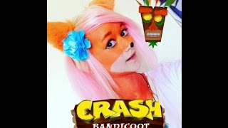★ [Crash Bandicoot] Coco Bandicoot Cosplay & Makeup ★