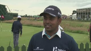 Lahiri 'super happy' with Open Championship place [AMBIENT]