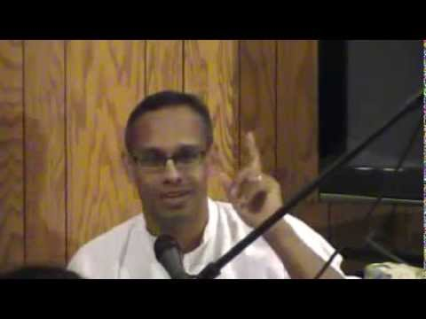 Hg Devakinandan Prabhu Visit To Minneapolis - Evening Class On Bg 2.71 At Manohar Prabhu Place video