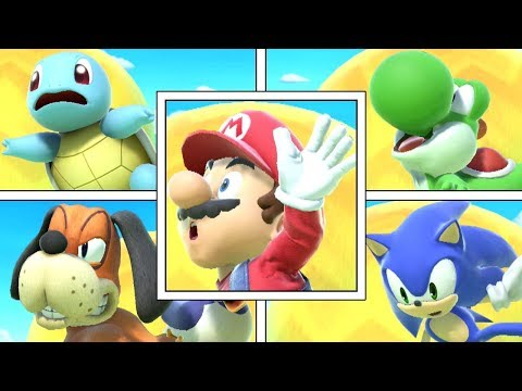 Every Character's Balancing Animation In Super Smash Bros Ultimate