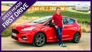 2018 Ford Fiesta ST-Line Test (140 PS, MK8) - Fahrbericht - Review - Speed Heads