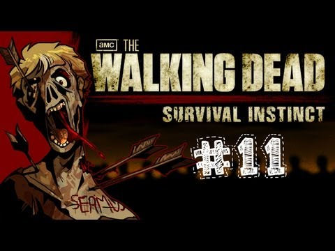 The Walking Dead Survival Instinct Gameplay / Walkthrough w/ SSoHPKC Part 11 - CROSSBOW!