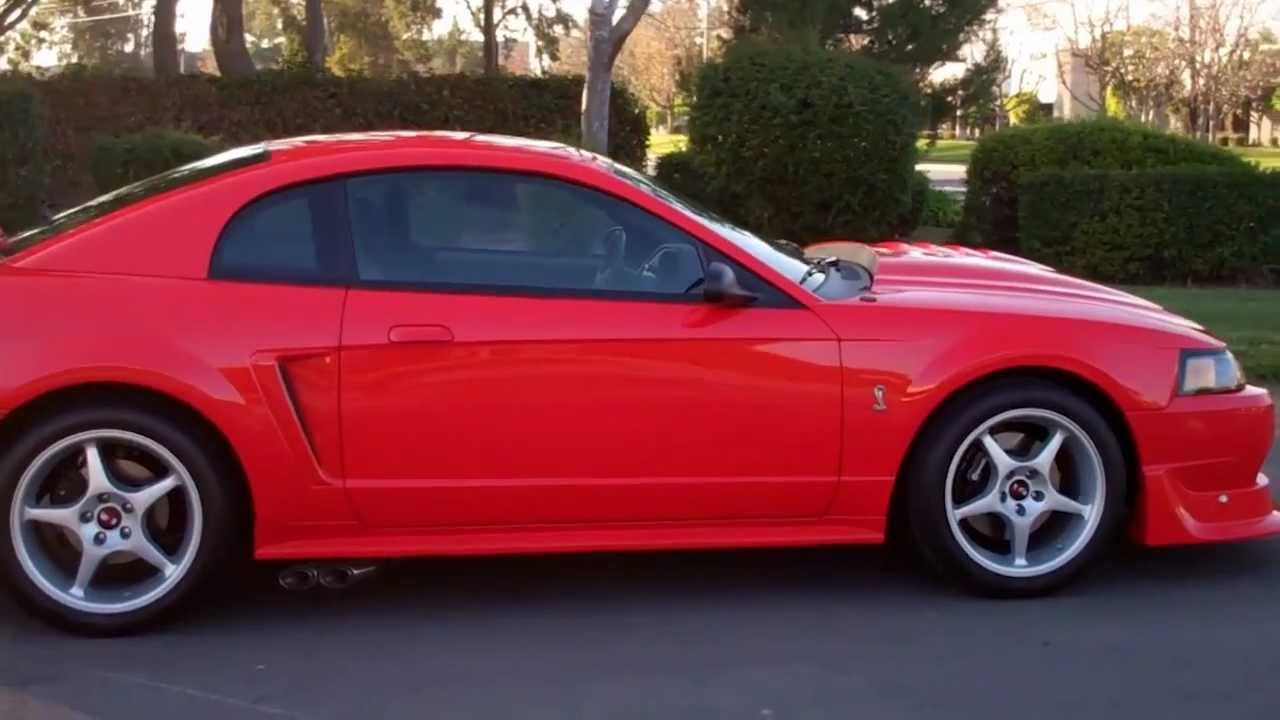Sold 2000 Mustang Svt Cobra R Coupe Red Youtube
