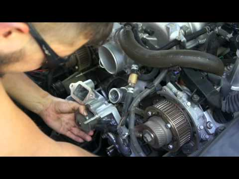2006 Gs 430 Timing Belt And Water Pump Replacement Tunedis95 DIY