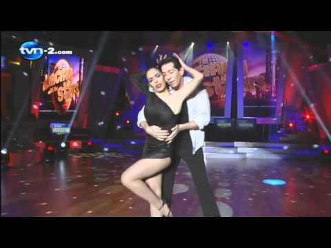 David & Maryelin, Bailan en esta 8va Gala de Dancing With The Stars