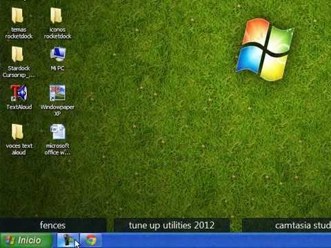 como poner las ventanas y la barra de tareas transparente para windows xp y windows 7