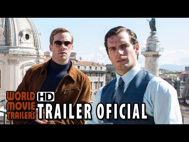O Agente da U.N.C.L.E. Trailer da Comic-Con Legendado (2015) - Henry Cavill HD