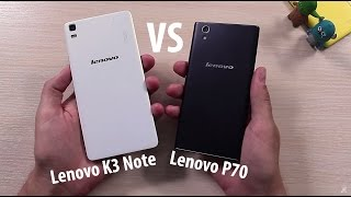 Lenovo P70 vs Lenovo K3 Note Сравнение